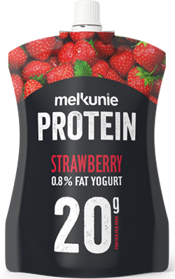 PROTEIN Aardbei Yoghurt on-the-go