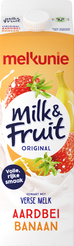 Milk & Fruit original Aardbei Banaan