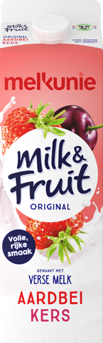 Milk & Fruit original Aardbei Kers